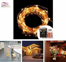 string starry lights led waterproof decorative warm white