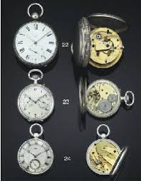 Robert Roskell. An Unusually Large Silver Cased Chronometer watch ... - d4511146r