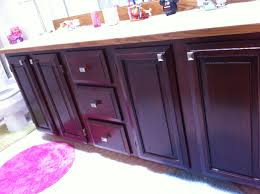 Dark Stained Kitchen Cabinets Furniture Simple Dark Kitchen Cabinets With General Finishes Gel