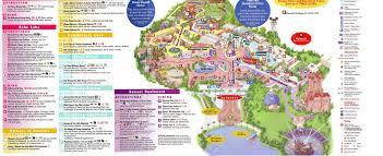 Orlando Universal Studios Map by Theme Park Brochures Disney U0027s Hollywood Studios Theme Park Brochures