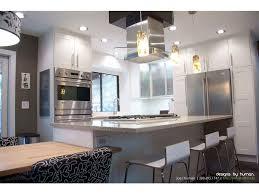 stainless steel range open shelving white kitchen vent hood duct