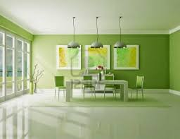 modern dining room decorating ideas with sleek metal pendant lamps