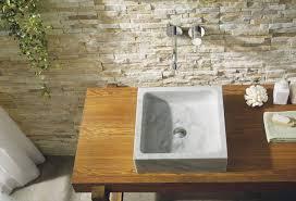 Natural Stone Bathroom Ideas Bathroom Daltile Salt Lake City Stone Bowl Sink Daltile