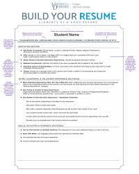 Sample Resume Objectives For Job Fair by Career Services Center Resumes U0026 Cover Letters University Of