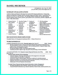 Qualifications Resume Example by Skill Resume Credit Analyst Resume Sample Credit Analyst Resume