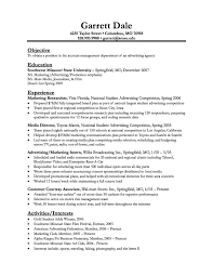 Best Resume Qualifications by Resume Examples Objective Education Student Clinical Experience
