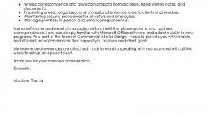 Hospital receptionist application letter Cover letter sample for hospital receptionist