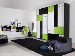 Bedroom Wall Unit Closets Geometric Pattern Bedroom Closets And Wardrobes Combined Wall Unit