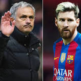 Jose Mourinho gives thumbs down to Lionel Messi joining Manchester United