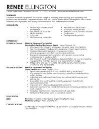 medical lab technician resume sample resume medical technologist example medical technologist cv r sum medical equipment technician resume examples