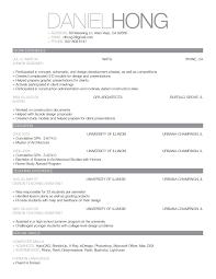 Breakupus Prepossessing Simple Resume Freewordtemplatesnet With       Job History Resume