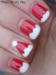 gold snowflakes and holly diy christmas diva nail art design put