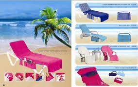 Luxury Beach Chair Single Shoulder Beach Bag Classic Beach Chair Cover Solft Cotton