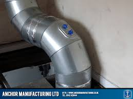 Insulated Ventilation Ducting An Air Ventilation Ducting System For A Fish And Chip Shop In