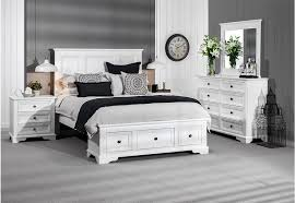 Quebec  Piece Dresser Queen Bedroom Suite Katalogue - Super amart bedroom packages