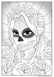 coloring pages coloring pages for tattoo sugar skull