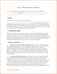Template Formal Letter by Nda Template Word Formal Letter Download Free Money Loan Agreement