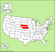 Colorado State University Map by Nebraska Location On The Us Map Nebraska On Us Map Arkansas Map
