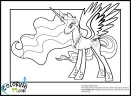 sad princess celestia my little pony coloring pages pinterest