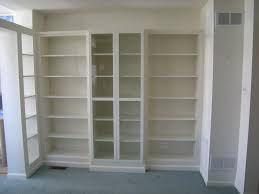 bookcases with doors ideas great idea for shelves for sliding