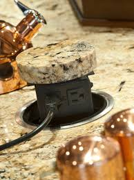 Kitchen Island Outlet Countertop Electrical Outlets Hidden Power Outlet On Kitchen