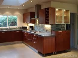 Best Kitchen Images On Pinterest Kitchen Ideas Backsplash - Kitchen backsplash ideas dark cherry cabinets