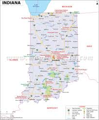 Blank Map Of The United States Of America by Indiana Map Map Of Indiana In