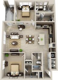 Best   Bedroom House Plans Ideas That You Will Like On - Apartment house plans designs
