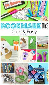 creative diy bookmark ideas red ted art u0027s blog