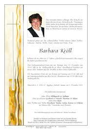 Verstorbene(r) Barbara Kröll Trauerhilfe Bestattungs GesmbH - lACopgoVVqnMnnngQfy6sYDsfCW