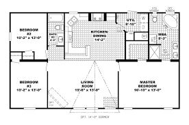 L Shaped House Floor Plans Unique Ranch House Floor Plans 4 Bedroom Love This Simple No And
