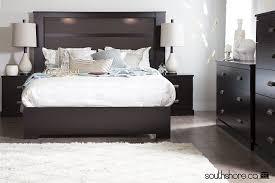 King Headboard Amazon Com South Shore 60 Inch Gloria Platform Bed Queen
