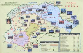 Pakistan On The Map Map Jpg