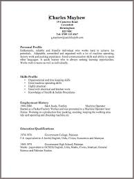 Microsoft Word Cv Template Free  blank resume templates for