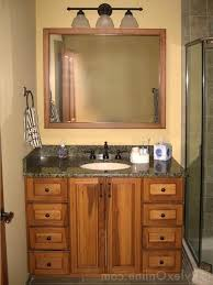 Bathroom Vanity Designs by Inspiring Hickory Bathroom Vanity Design