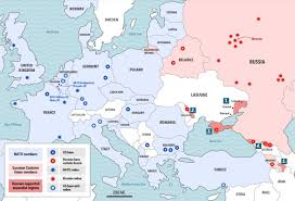 Map Of Russia And Europe by Nato And Russia Conflict U2013 Are We Heading Back To Cold War