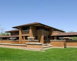 Hip Roof Ranch House Plans Frank Lloyd Wright Inspired House Plans Houzz