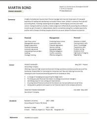Financial Planner Resume Sample by Lofty Ideas Finance Resume Examples 3 Advisor Resume Example