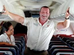 Dik vliegtuigpersoneel? Let op de baan!