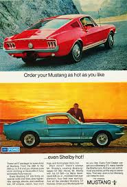 ford 1967 mustang shelby gt500 ad jpg 1024 1500 u003c u003cvintage car