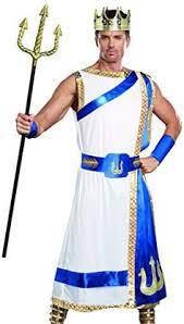 Mens Halloween Costumes Amazon Zeus Costume Greek God Costume Halloween Greek