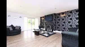 Fabulous Black Wallpaper Living Room Decorating Ideas YouTube - Wallpaper living room ideas for decorating