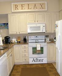 Painting Thermofoil Kitchen Cabinets Kitchen Cabinet Remake Pickled To Beachy Hometalk