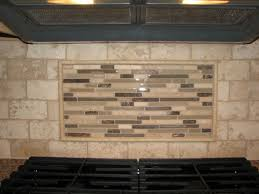 Kitchen Backsplash Mural Stone by Travertine Tile Backsplash Travertine Tile Backsplash With Glass