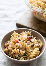 Pasta Recipes Mediterranean Tuna Pasta Recipe Simplyrecipes Com