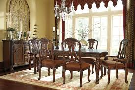 north shore dining table d553 35 dark brown by ashley furniture