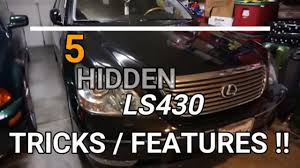 5 hidden lexus ls430 features you didn u0027t know about youtube