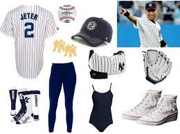 Halloween Baseball Costume Derek Jeter Halloween Costume Wear Halloween