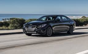 2015 Genesis Msrp 2018 Genesis G80 Sport First Drive Review Car And Driver