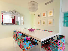 Ideas For Dining Room Table Decor by Decorating With Mirrors Hgtv